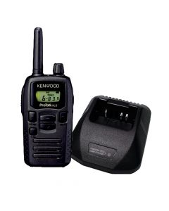 Portable - Kenwood ProTalk XLS TK-3230DX UHF 450-470 MHz, 1.5 Watt, 6 Preset Channels With Battery, Belt Clip and Single Unit Charger