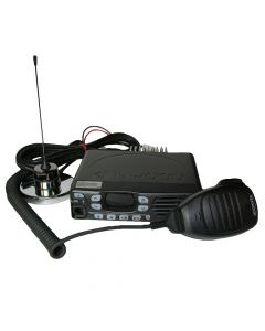 Mobile - Kenwood TK-8302HUK UHF 450-520 MHz, 45-Watt, 16-Channel With Antenna, Mic and Mounting Bracket