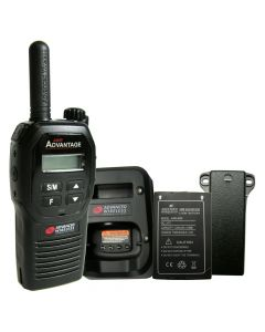 Portable - Advantage AWR-4000 UHF 450-470 MHz, 2-Watt, 16-Channel, With Battery, Belt Clip, and Charger