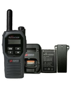 Portable - Advantage Plus AWR-4002 UHF 450-470 MHz, 2-Watt, 16-Channel, With Battery, Belt Clip, and Charger