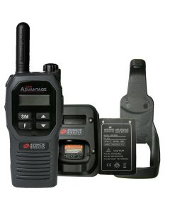 Portable - Advantage Plus AWR-4002 UHF 450-470 MHz, 2-Watt, 16 Channel, Bluetooth, DTMF With Battery, Charger and Holster