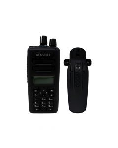 Portable - Kenwood NEXEDGE NX-3320K2 UHF 400-520 MHz, 5-Watt, 260-Channels, With Antenna, Battery Belt Clip,  Bluetooth and  Charger