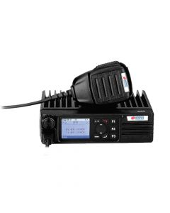 Mobile - AWR-DM7700 Digital/Analog, UHF 400-470 MHz, 50-Watt, 1600 Channels With LCD, Mic and Mounting Bracket