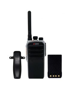 Portable - AWR-D7000 Digital/Analog UHF 400-470 MHz, 4-Watt, 32 Channels With Antenna, Battery and Belt Clip