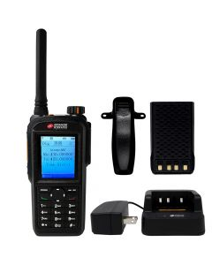 Portable - AWR-D7500 Digital/Analog UHF 400-470 MHz, 4-Watt, 1600 Channel With Antenna, Battery, Belt Clip and Charger