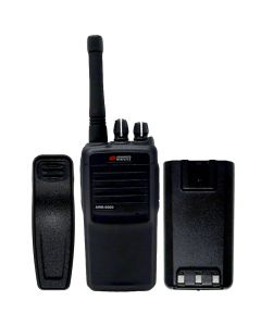Portable - AWR-8000 UHF 450-470 MHz, 4-Watt, 16-Channel With Battery and Belt Clip