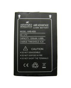 Battery - Li-Ion 1200mAh, 3.7V for AWR-400x Advantage Series Radios