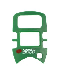 Face Plate - For  AWR-MINI4 Radios-Green