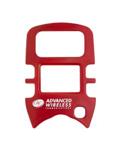 Face Plate - For  AWR-MINI4 Radios-Red