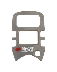 Face Plate - For  AWR-MINI4 Radios-Silver