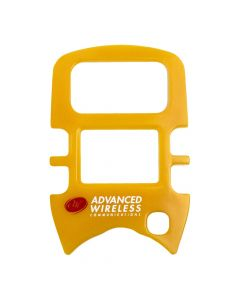Face Plate - For  AWR-MINI4 Radios-Yellow