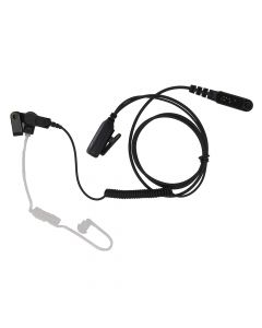 Headset - Surveillance With Long Tube Acoustic And PTT Connector Style H5B